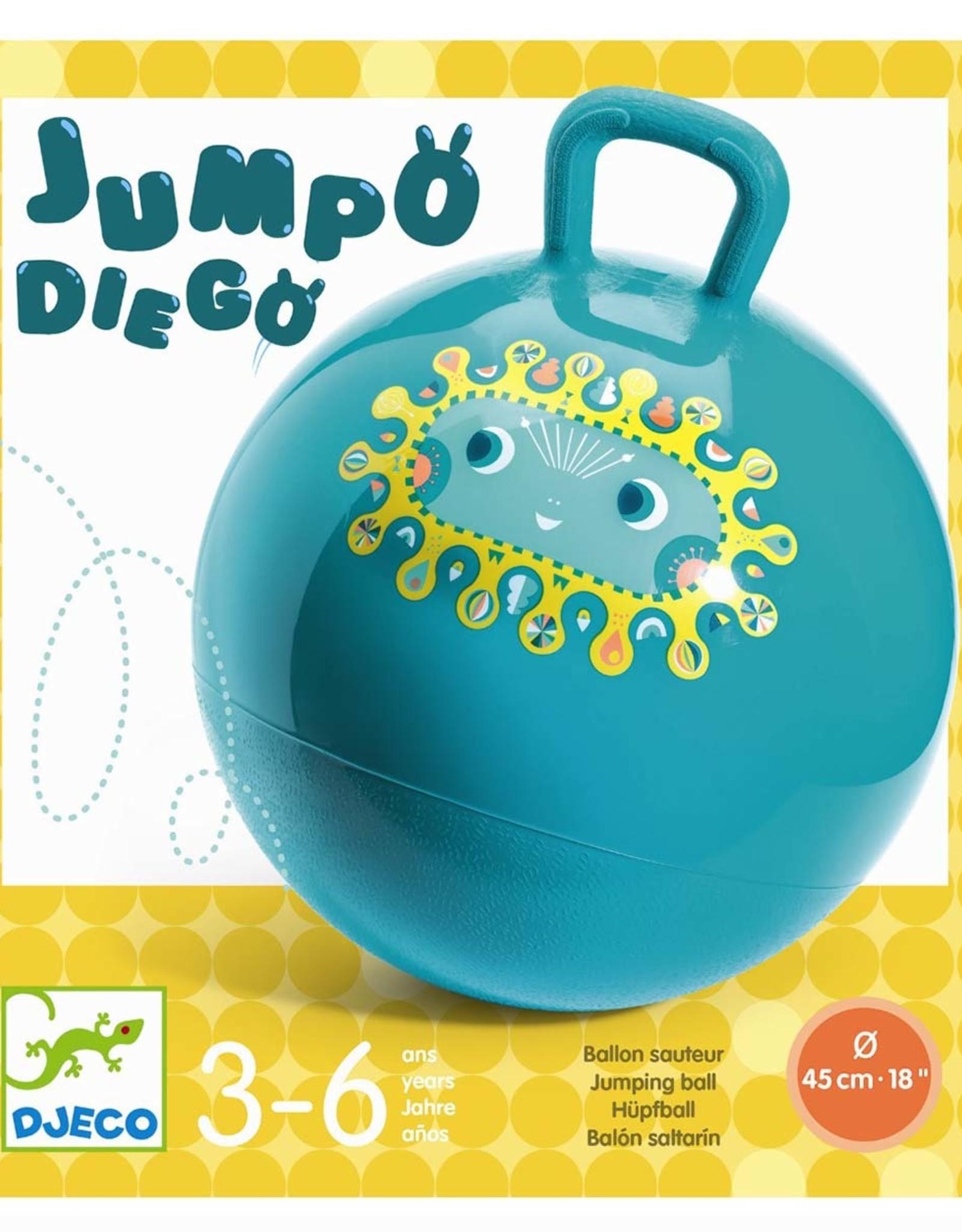 Djeco Jumpo Diego Skippybal
