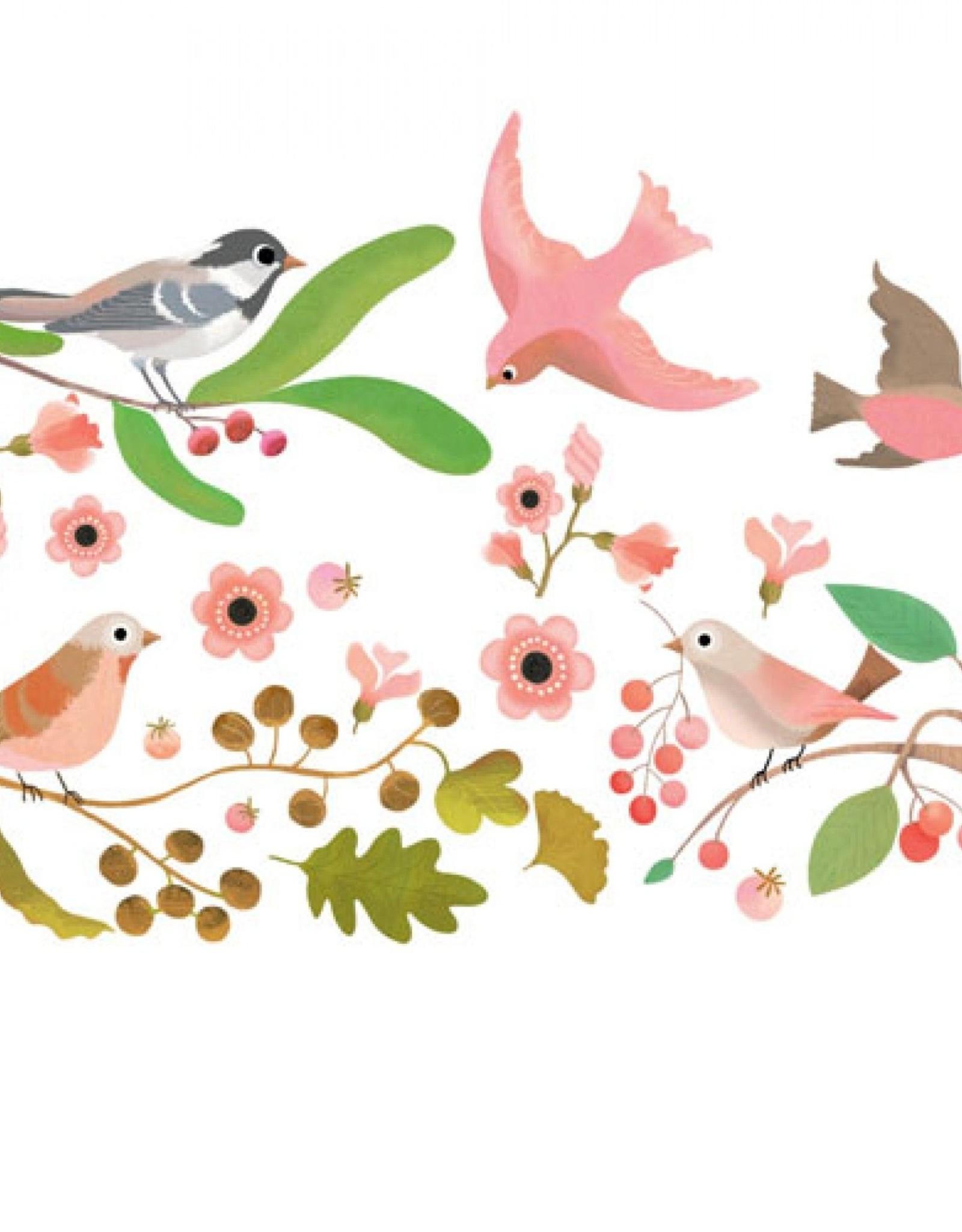 Djeco Muur Sticker Vogel