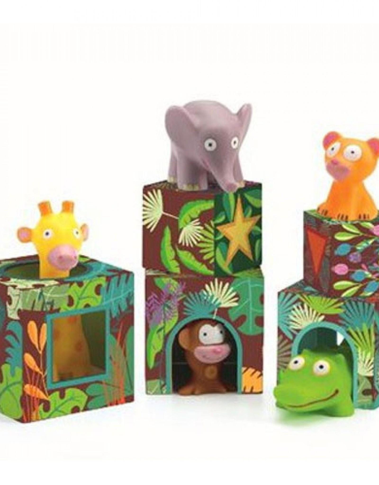 Djeco Stapelblokken Jungle