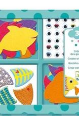Djeco Creëer Vissen met Stickers