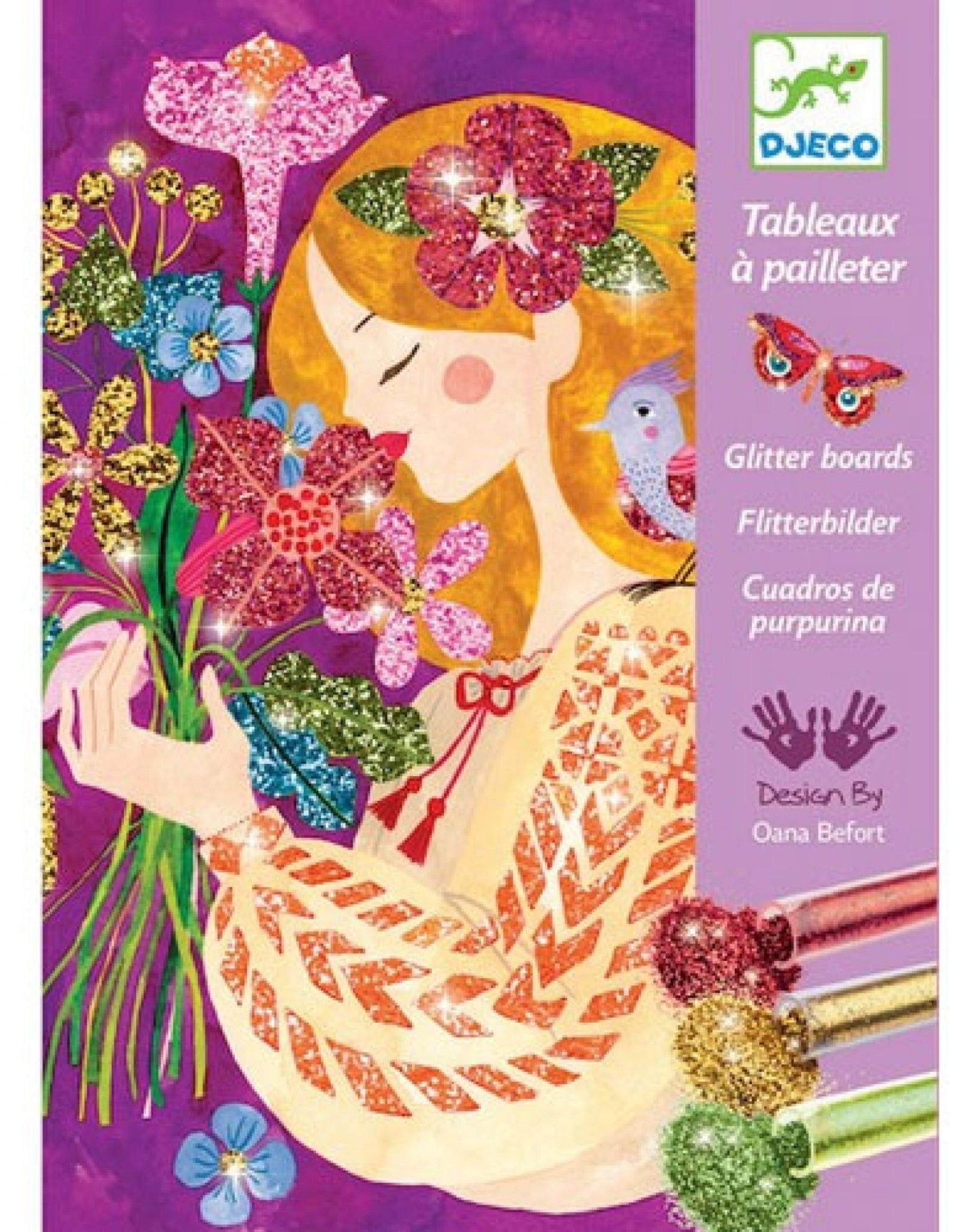Djeco Glitterschilderij Bloemengeuren