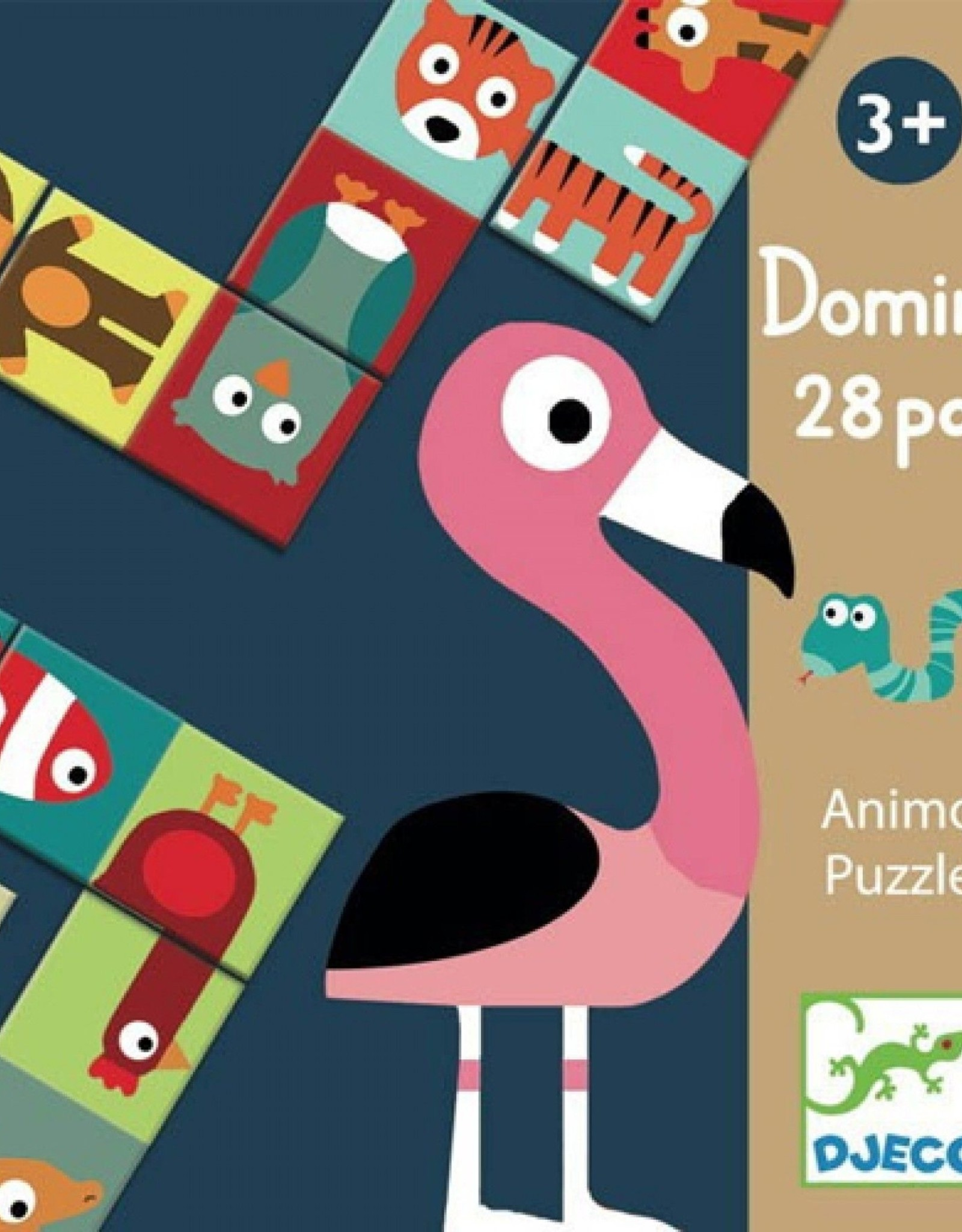 Djeco Domino Box Dieren