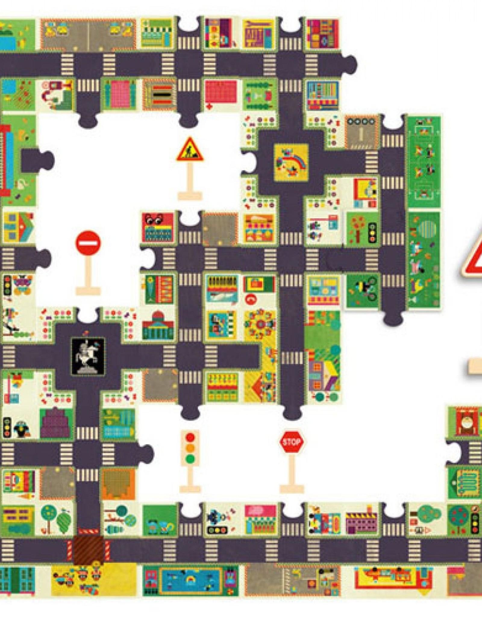 Djeco Puzzel Grote Stad