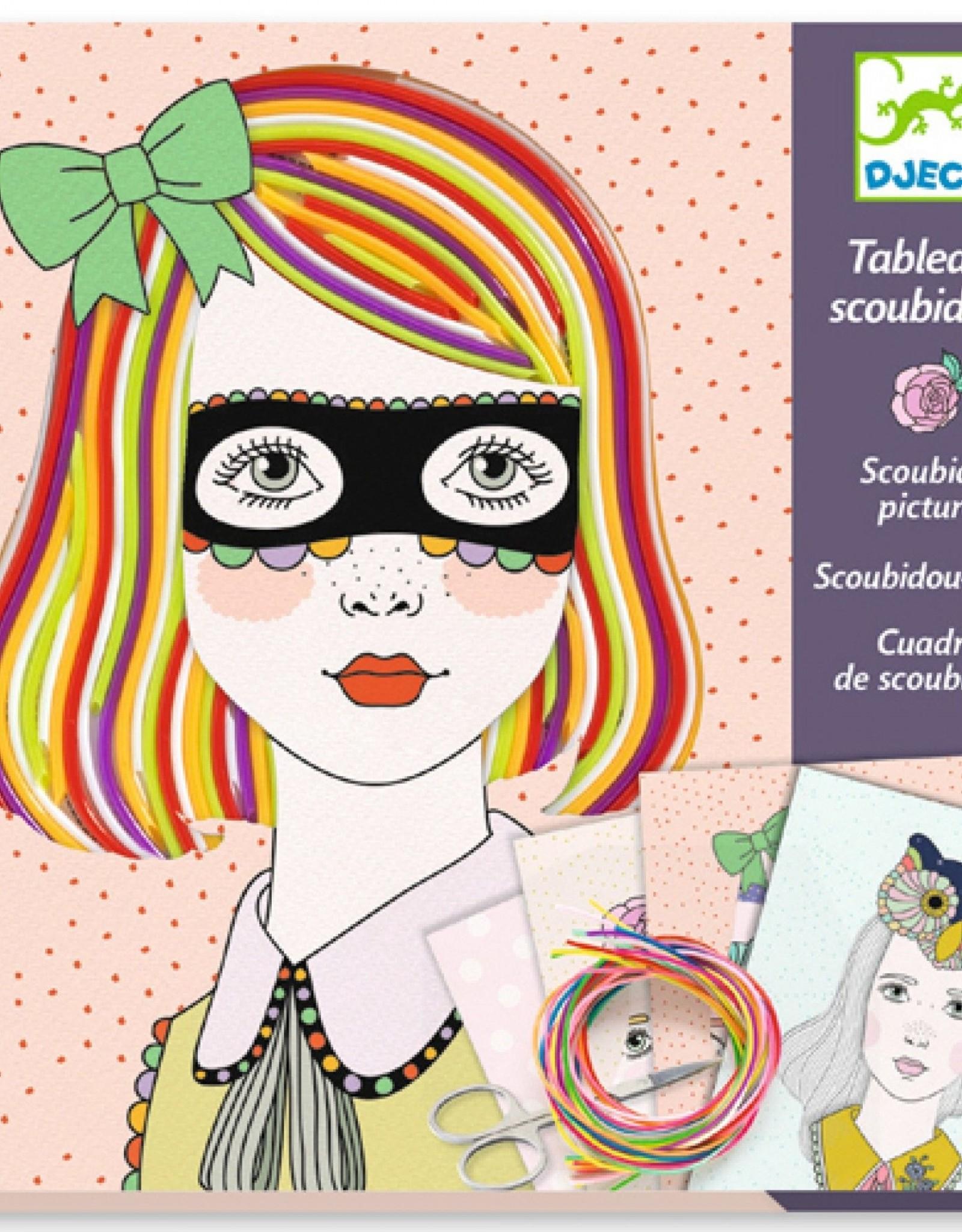 Djeco Scoubidou Kleurrijk Haar