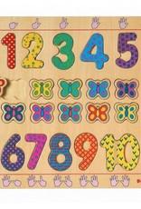 Djeco Puzzel Nummer 1-10