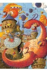 Djeco Puzzel Draak Kasteel