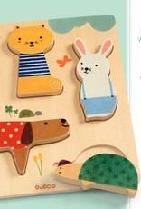 Djeco Puzzel Huisdieren