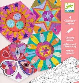 Djeco Mandala's Kleuren en Vouwen