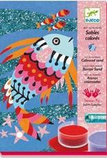 Djeco Zandschilderij Vissen
