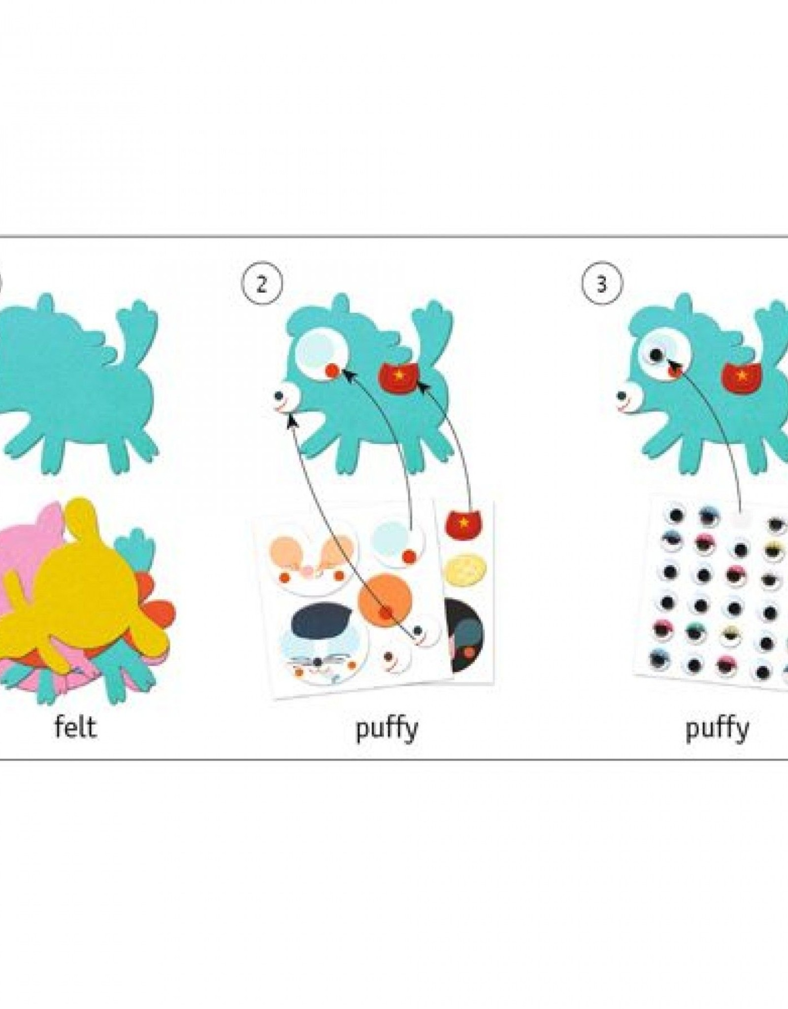 Djeco Creëer Dieren met Stickers