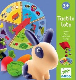 Djeco Tactilo Loto Boerderij