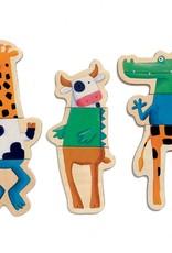 Djeco Magnetic's Crazy Animals