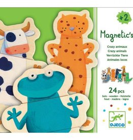 Djeco Magnetic's Crazy Animals