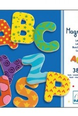 Djeco Magnetic's 38 Letters
