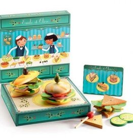 Djeco Emile & Olive Sandwich Shop