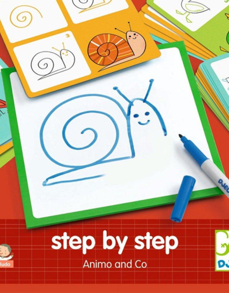 Djeco Step By Step Animo & Co