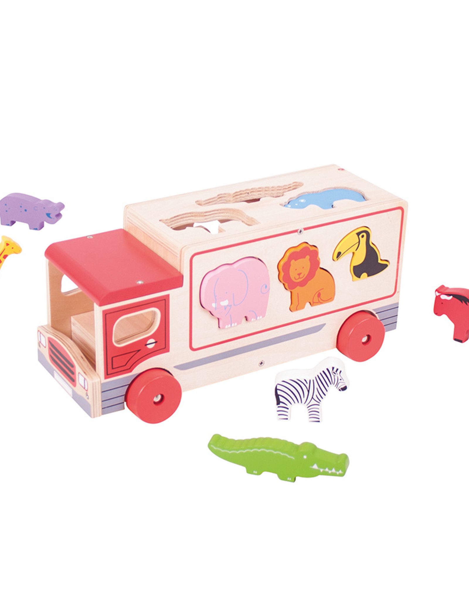 Bigjigs Safari Lorry
