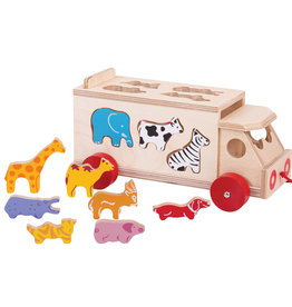 Bigjigs Animal Shape Lorry