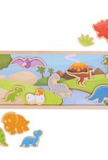 Bigjigs Magnetisch bord (dinosaurus)
