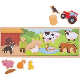 Bigjigs Magnetisch bord (boerderij)