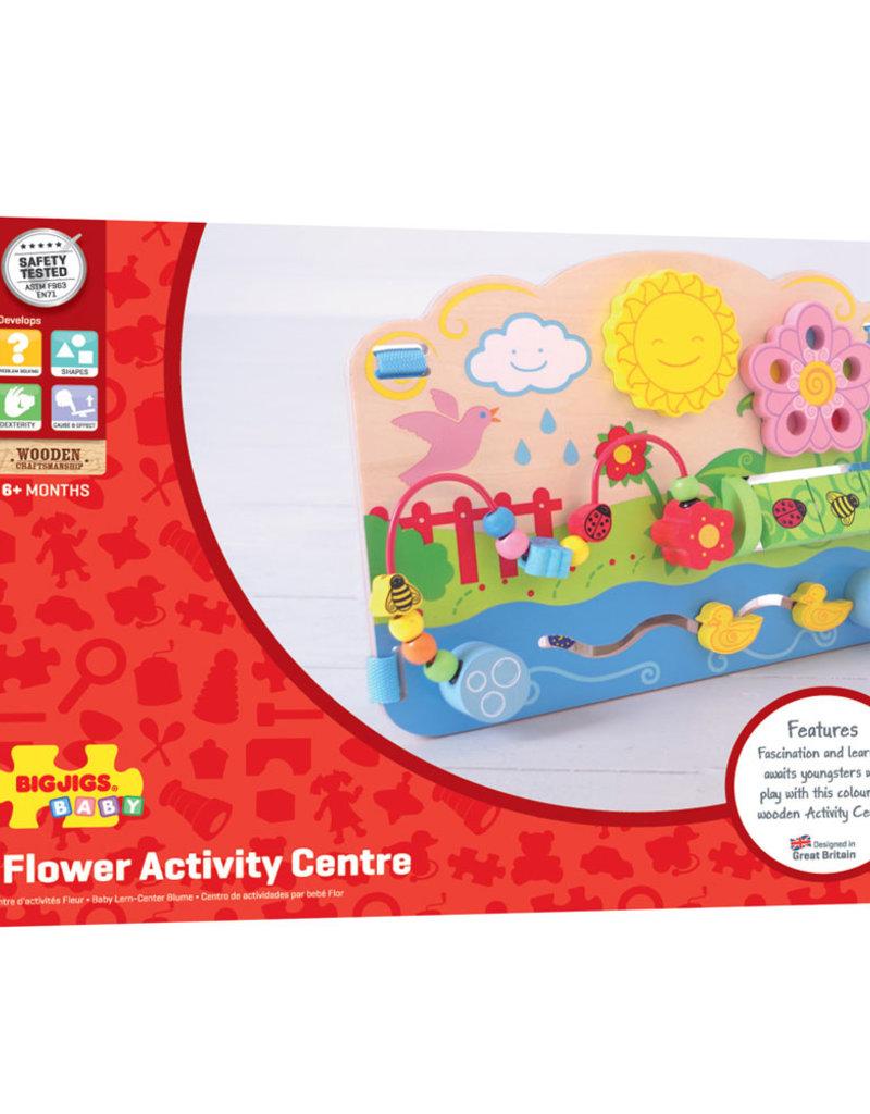Bigjigs Flower Activity Center