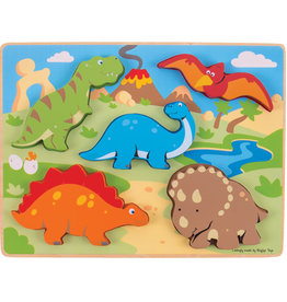 Bigjigs Puzzel Chunky Dino 1+