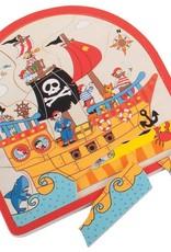 Bigjigs Lagen Puzzel Piraat 2+