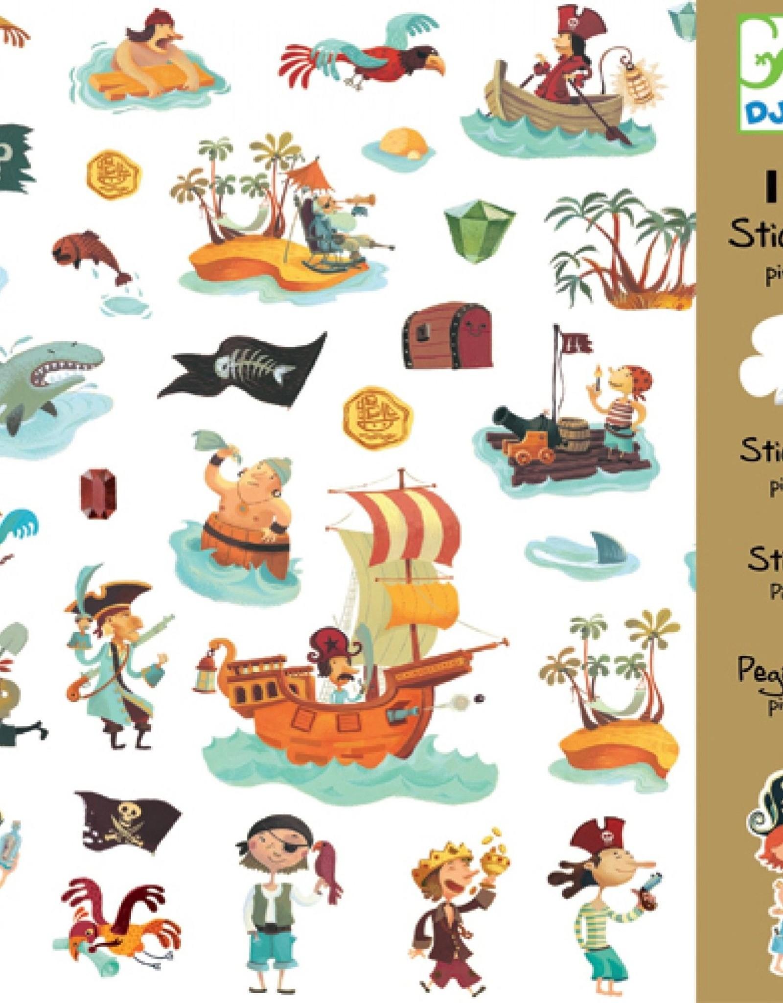Djeco Sticker Piraat