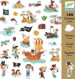 Djeco Stickers Piraat