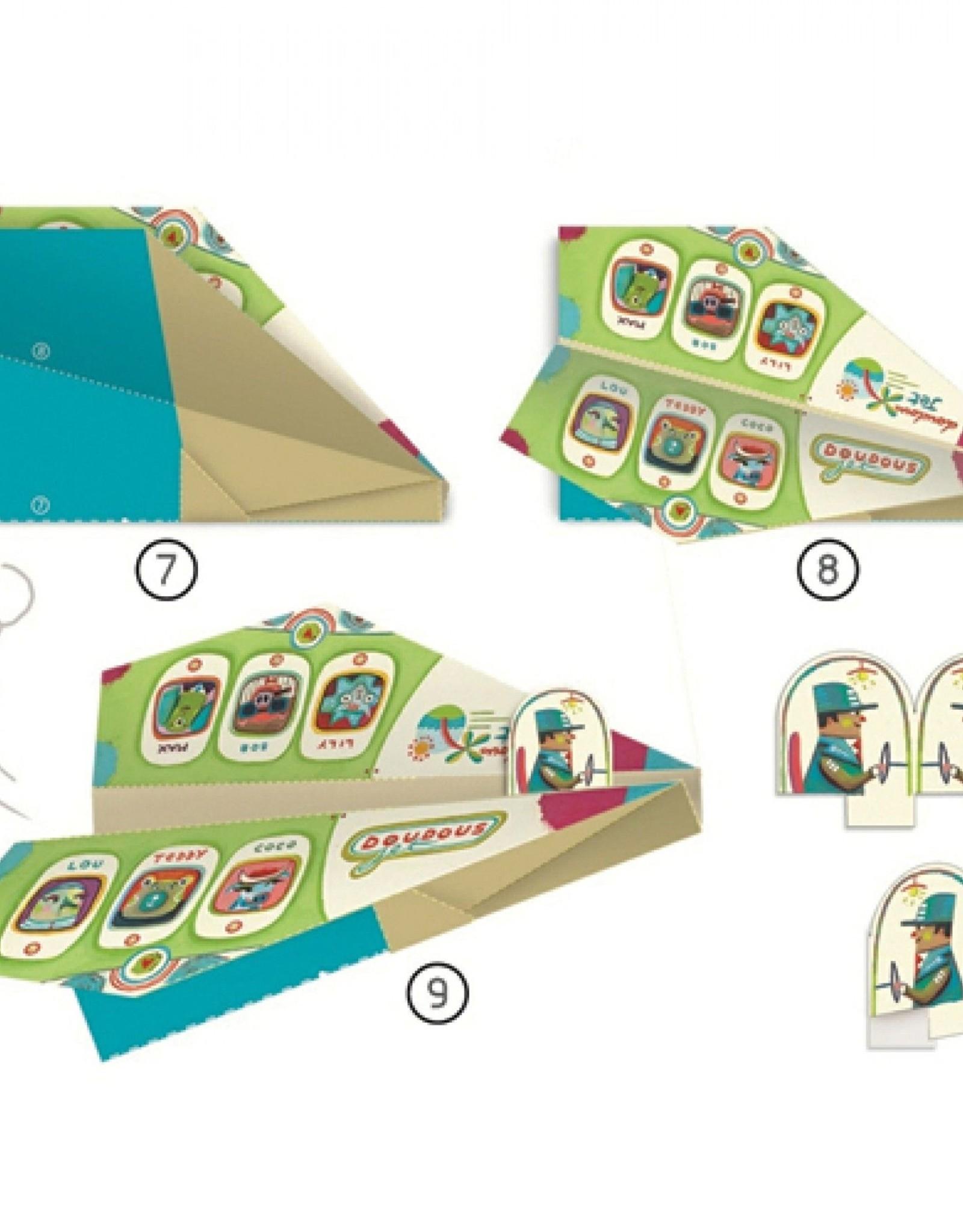 Djeco Origami Vliegtuig