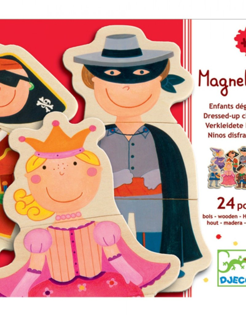 Djeco Magnetic's Dress Up