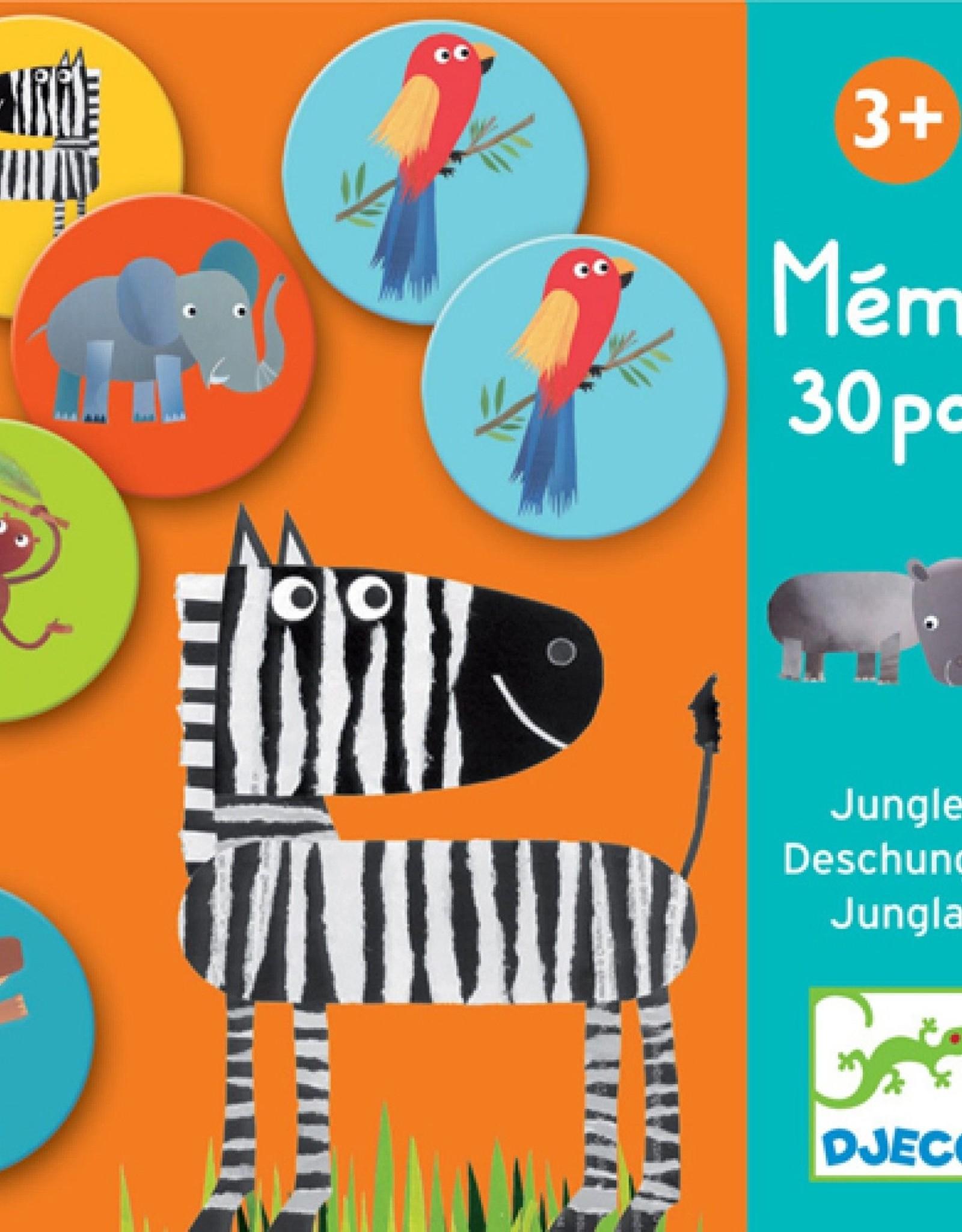 Djeco Memo Jungle