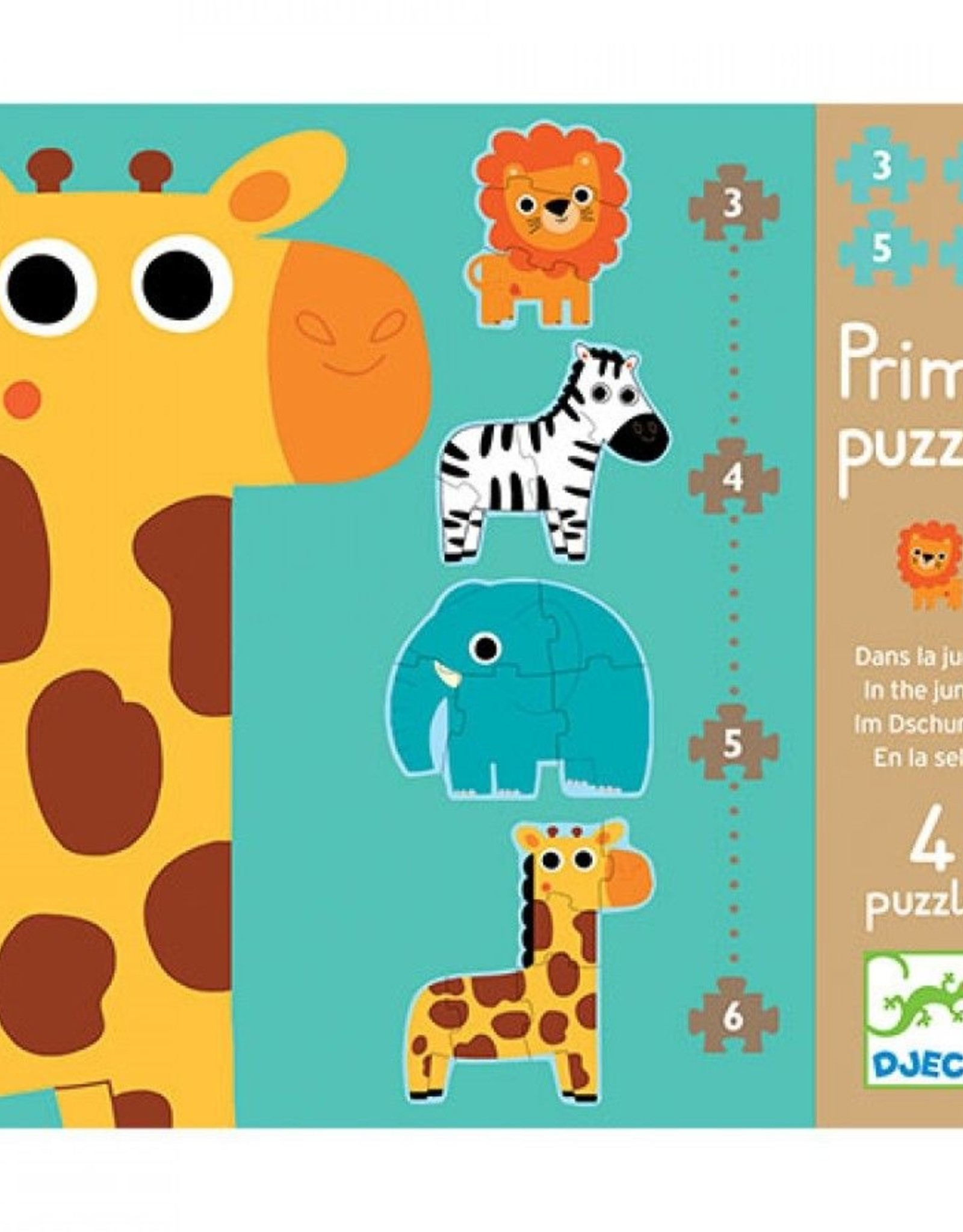 Djeco Puzzel Primo Jungle