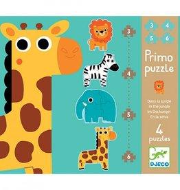 Djeco Puzzel Primo Jungle