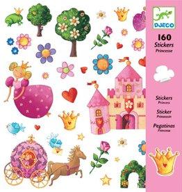 Djeco Stickers Prinses
