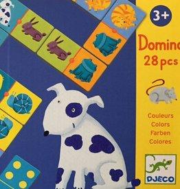 Djeco Domino Kleur en Dier