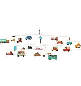 Djeco Mobiel Auto Verkeer
