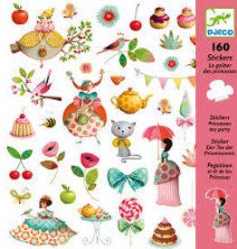 Djeco Stickers Tea Party Prinses