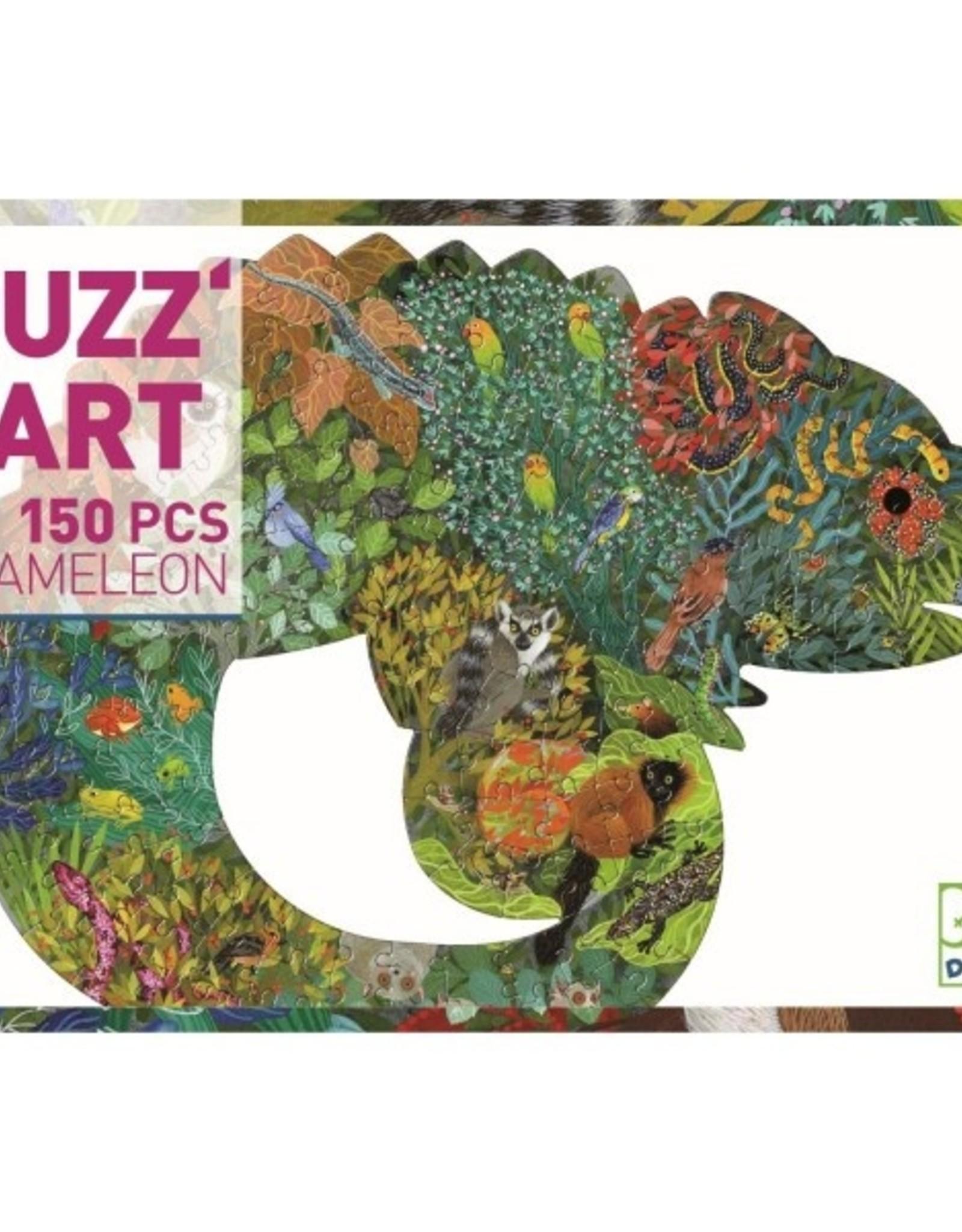 Djeco Puzzel Kameleon
