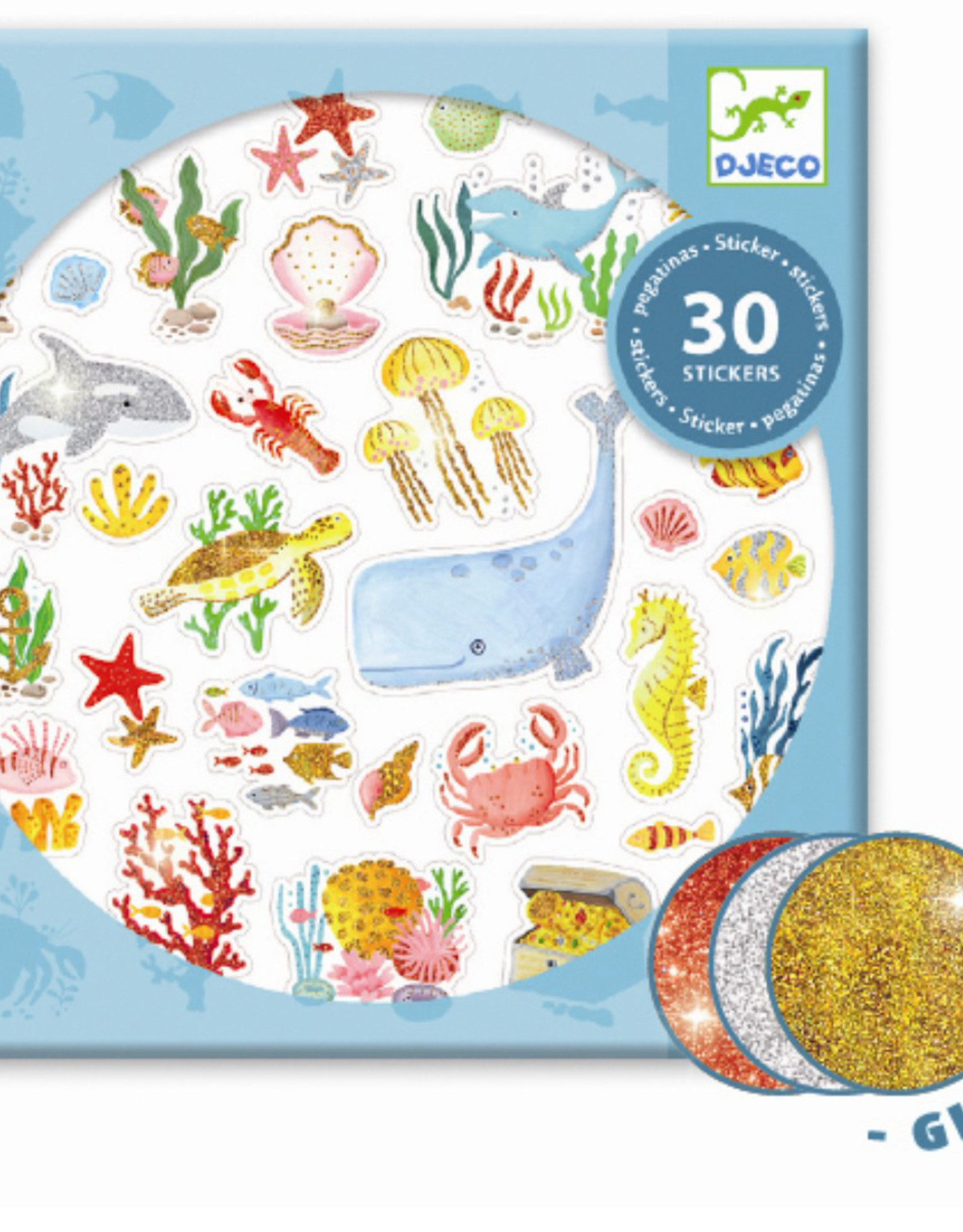 Djeco Stickers Aqua Dream