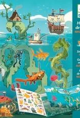 Djeco Sticker Verhaal Zee