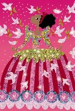 Djeco Glitterschilderij Jurken