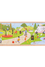 Bigjigs Puzzel Park 2+