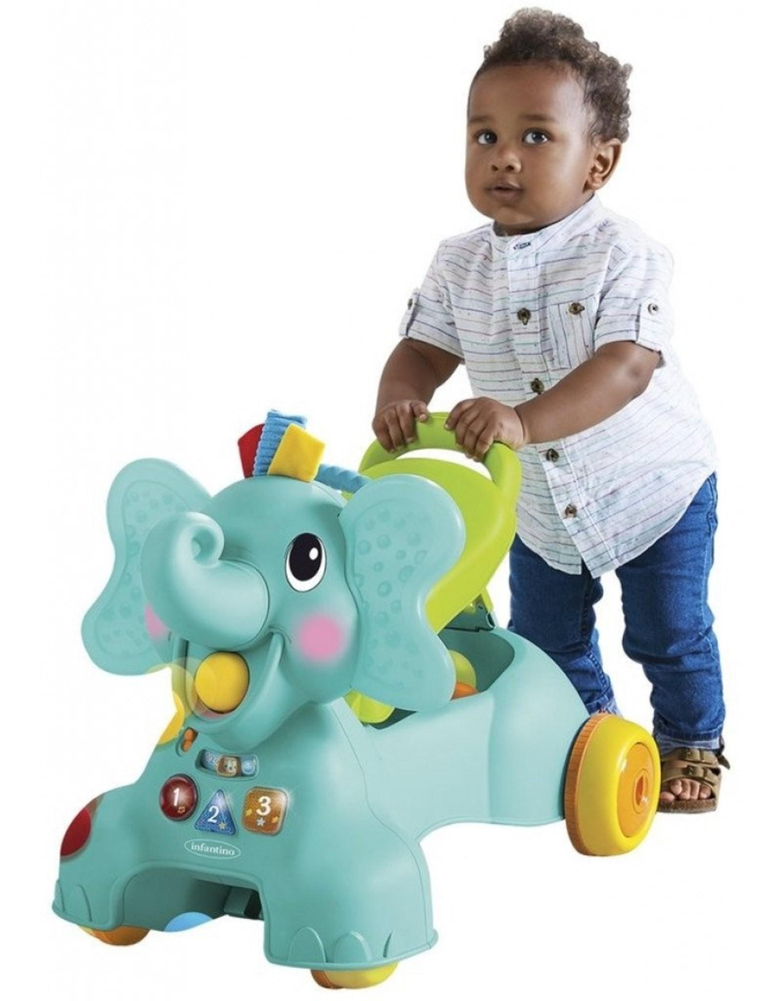 Infantino Ride On Elephant