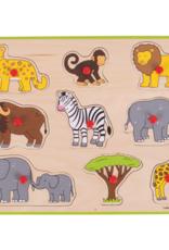 Bigjigs Puzzel Jungle 3+
