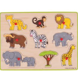 Bigjigs Puzzel Jungle 3+