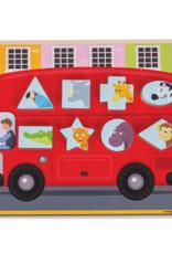 Bigjigs Puzzel Sorting Bus 1+