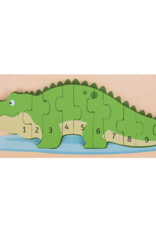 Bigjigs Puzzel Krokodil