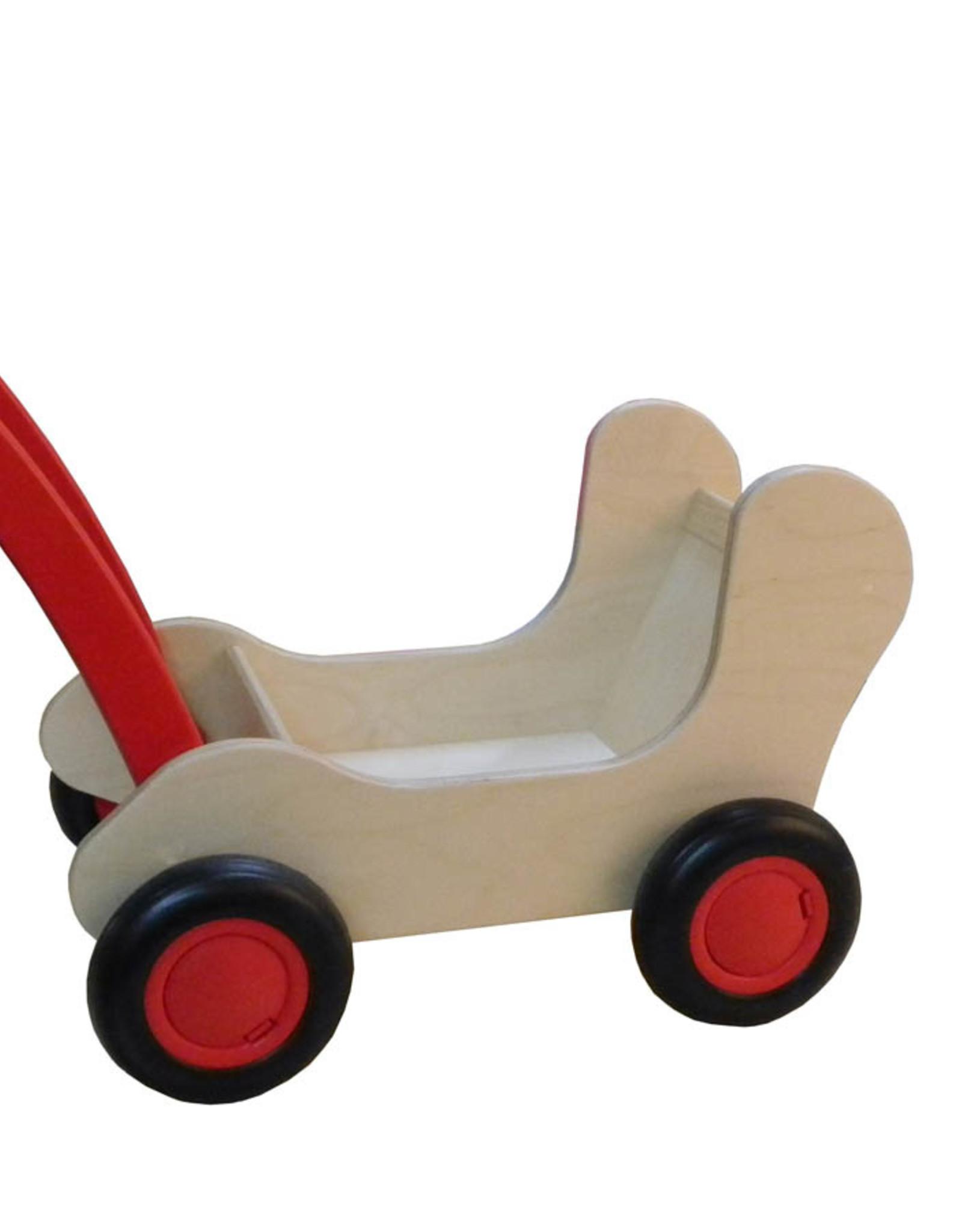 Van Dijk Toys Combi Popwagen Rood