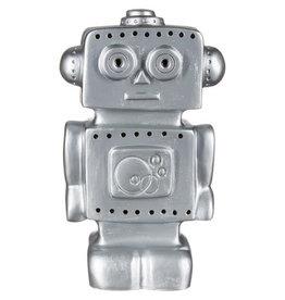 Lamp Robot Zilver
